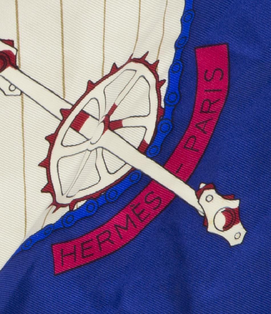 HERMES SILK SCARF, 'LES BECANES' PATTERN - 2