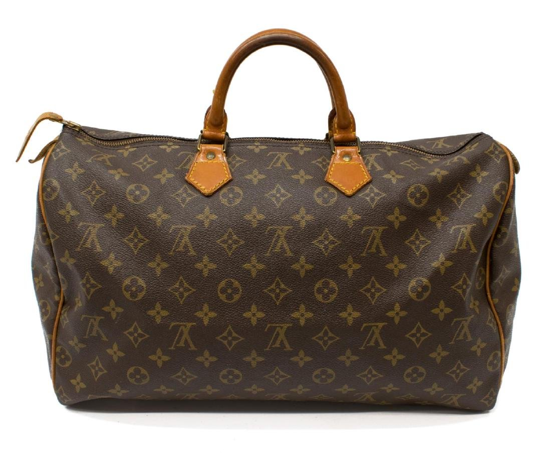 LOUIS VUITTON 'SPEEDY 40' MONOGRAM CANVAS HANDBAG