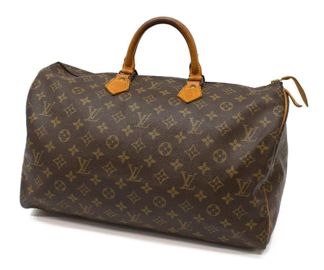 LOUIS VUITTON 'SPEEDY 40' MONOGRAM CANVAS HANDBAG - 2