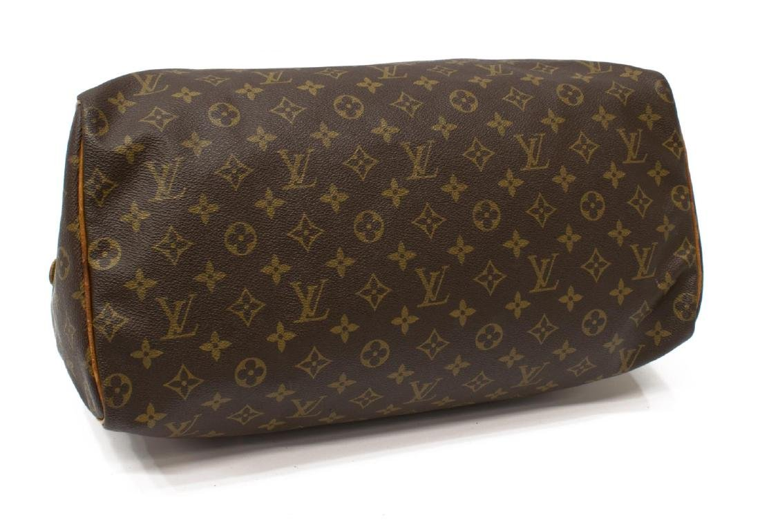 LOUIS VUITTON 'SPEEDY 40' MONOGRAM CANVAS HANDBAG - 3