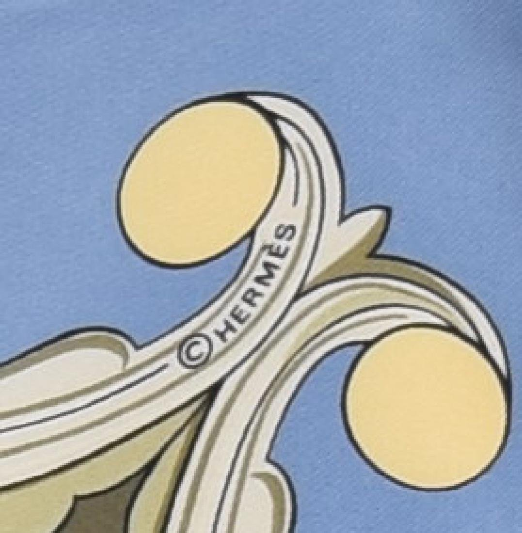 HERMES SILK TWILL SCARF, 'ANIMAUX SOLAIRES' - 3