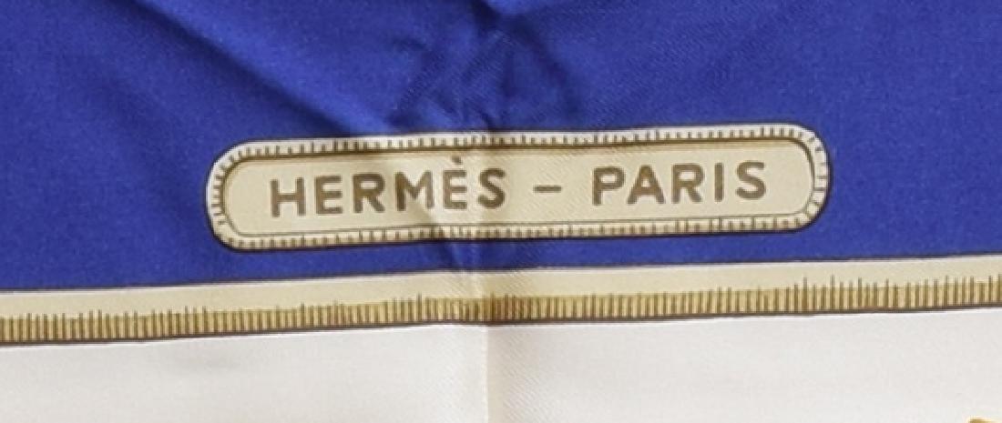 HERMES SILK TWILL SCARF, 'CARAIBES' PATTERN - 3