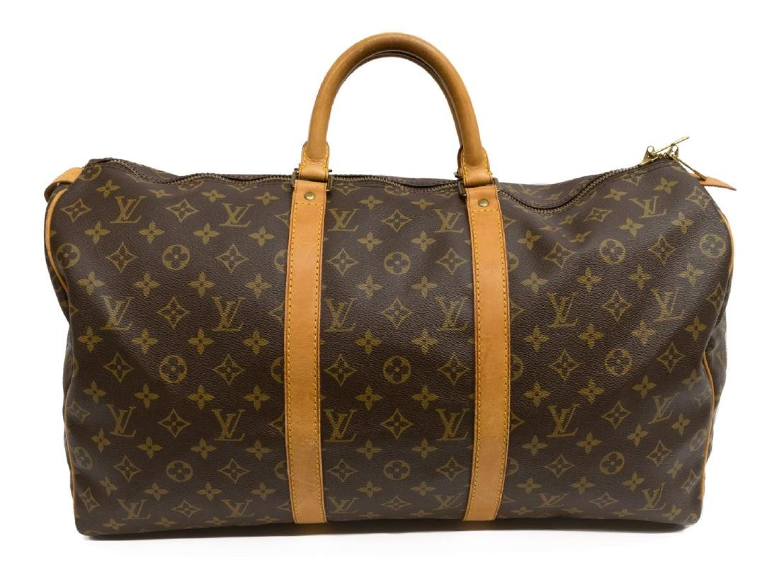 LOUIS VUITTON 'KEEPALL 45' MONOGRAM DUFFLE BAG