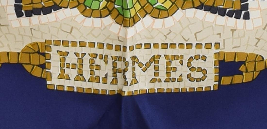 HERMES SILK TWILL SCARF, 'PROVENCE' PATTERN - 3
