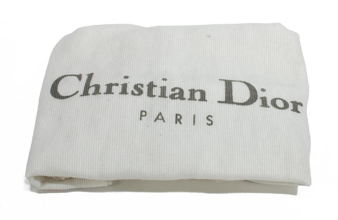CHRISTIAN DIOR MINI RED DIORISSIMO SADDLE BAG - 5