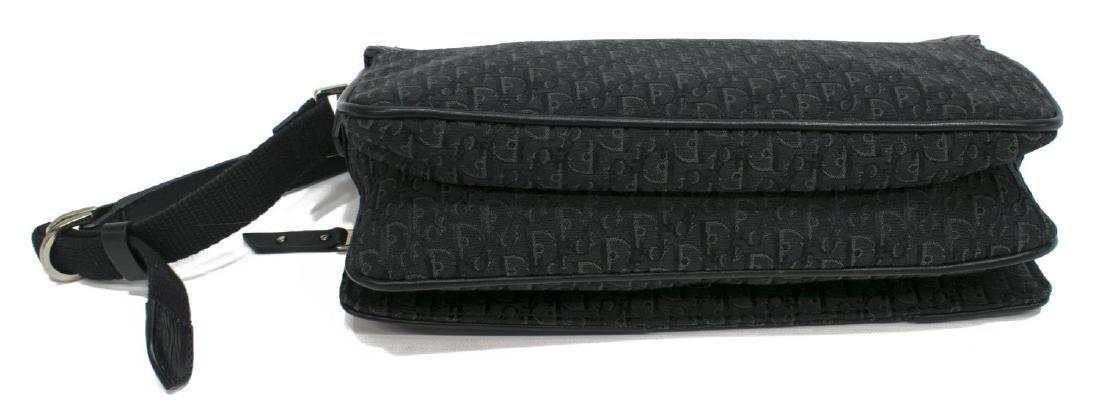 CHRISTIAN DIOR BLACK DIORISSIMO SHOULDER BAG - 3