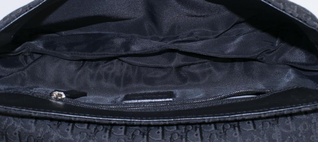 CHRISTIAN DIOR BLACK DIORISSIMO SHOULDER BAG - 4
