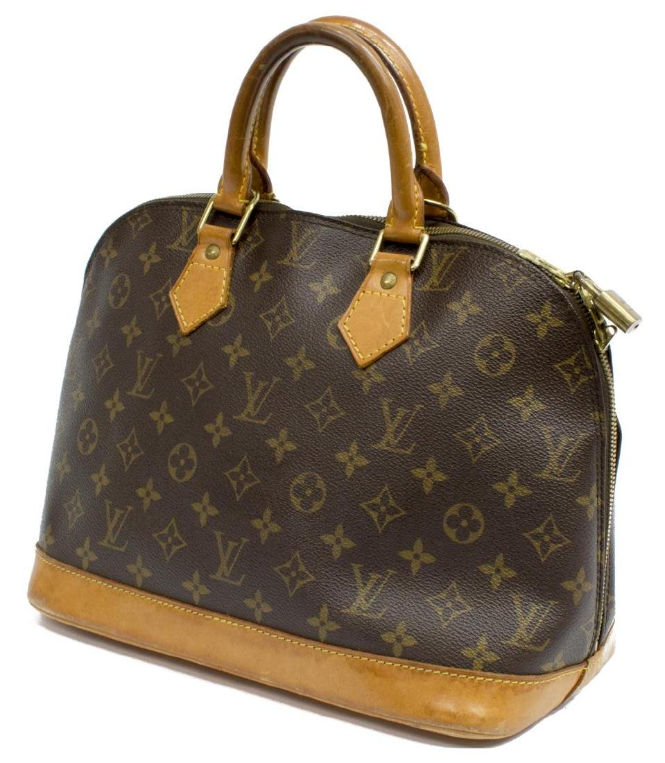 LOUIS VUITTON 'ALMA' MONOGRAMMED HANDBAG