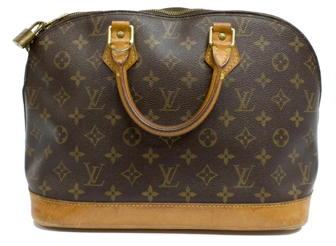 LOUIS VUITTON 'ALMA' MONOGRAMMED HANDBAG - 2
