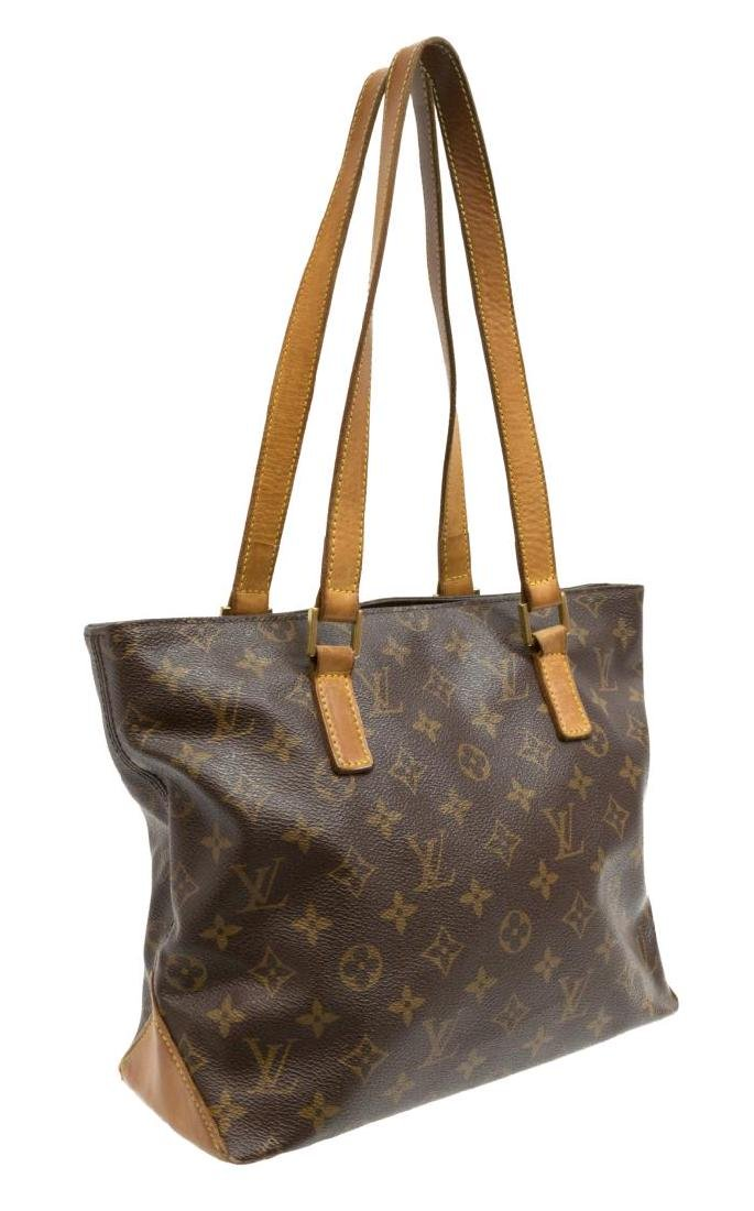 LOUIS VUITTON 'CABAS PIANO' MONOGRAM TOTE BAG - 2