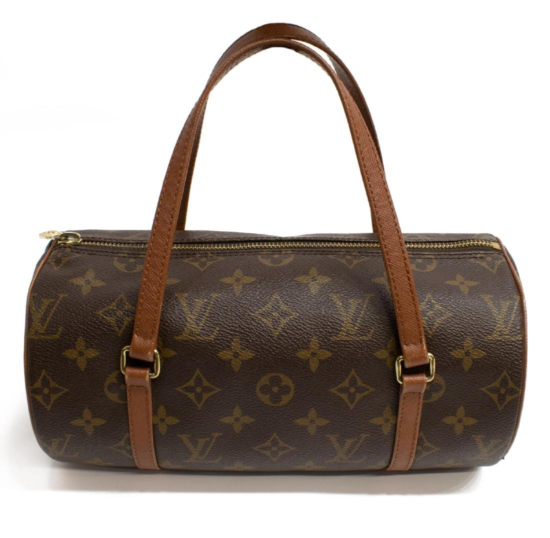 LOUIS VUITTON 'PAPILLON' MONOGRAM CANVAS HANDBAG