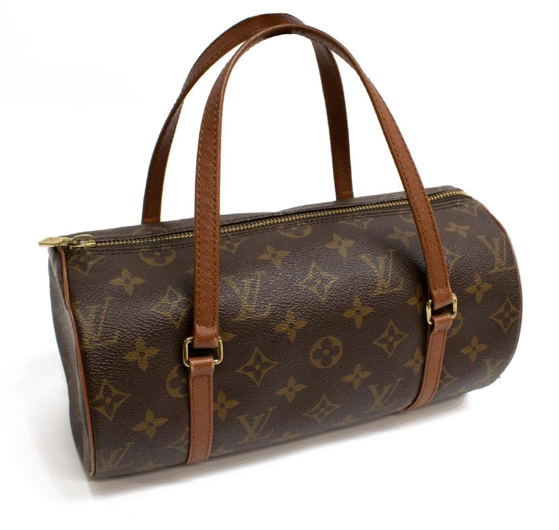 LOUIS VUITTON 'PAPILLON' MONOGRAM CANVAS HANDBAG - 2