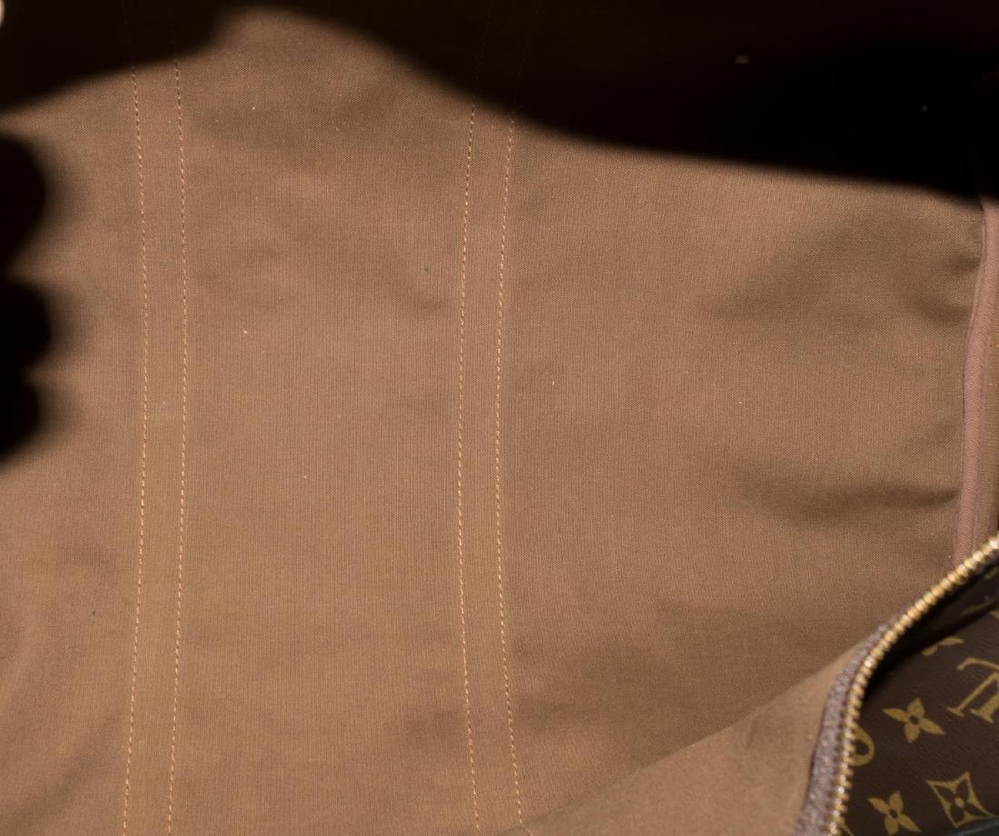 LOUIS VUITTON 'KEEPALL BANDOULIERE 60' DUFFLE BAG - 4