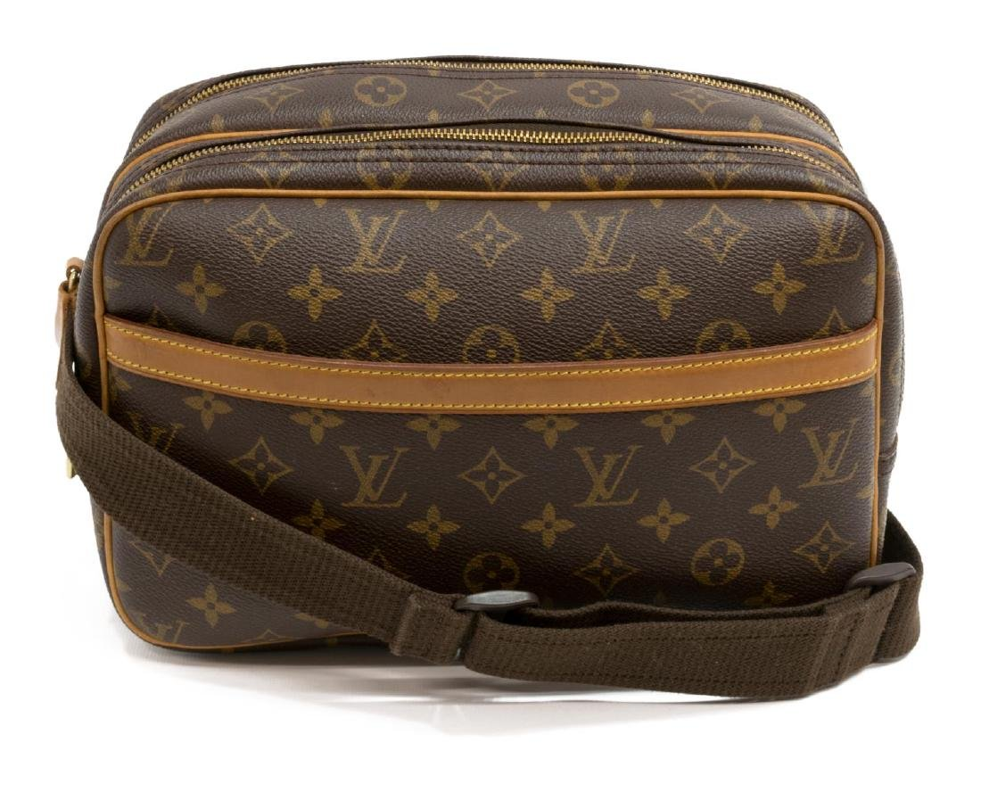 LOUIS VUITTON 'REPORTER' MONOGRAM CROSSBODY BAG