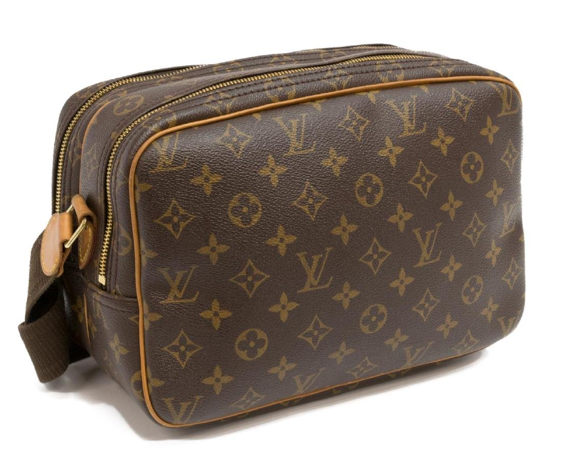 LOUIS VUITTON 'REPORTER' MONOGRAM CROSSBODY BAG - 2