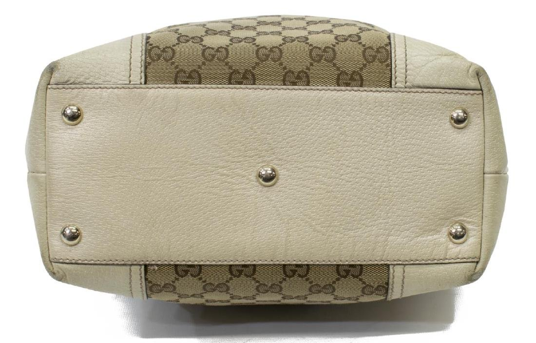 GUCCI PRINCY GG CANVAS & LEATHER TALL TOTE BAG - 3