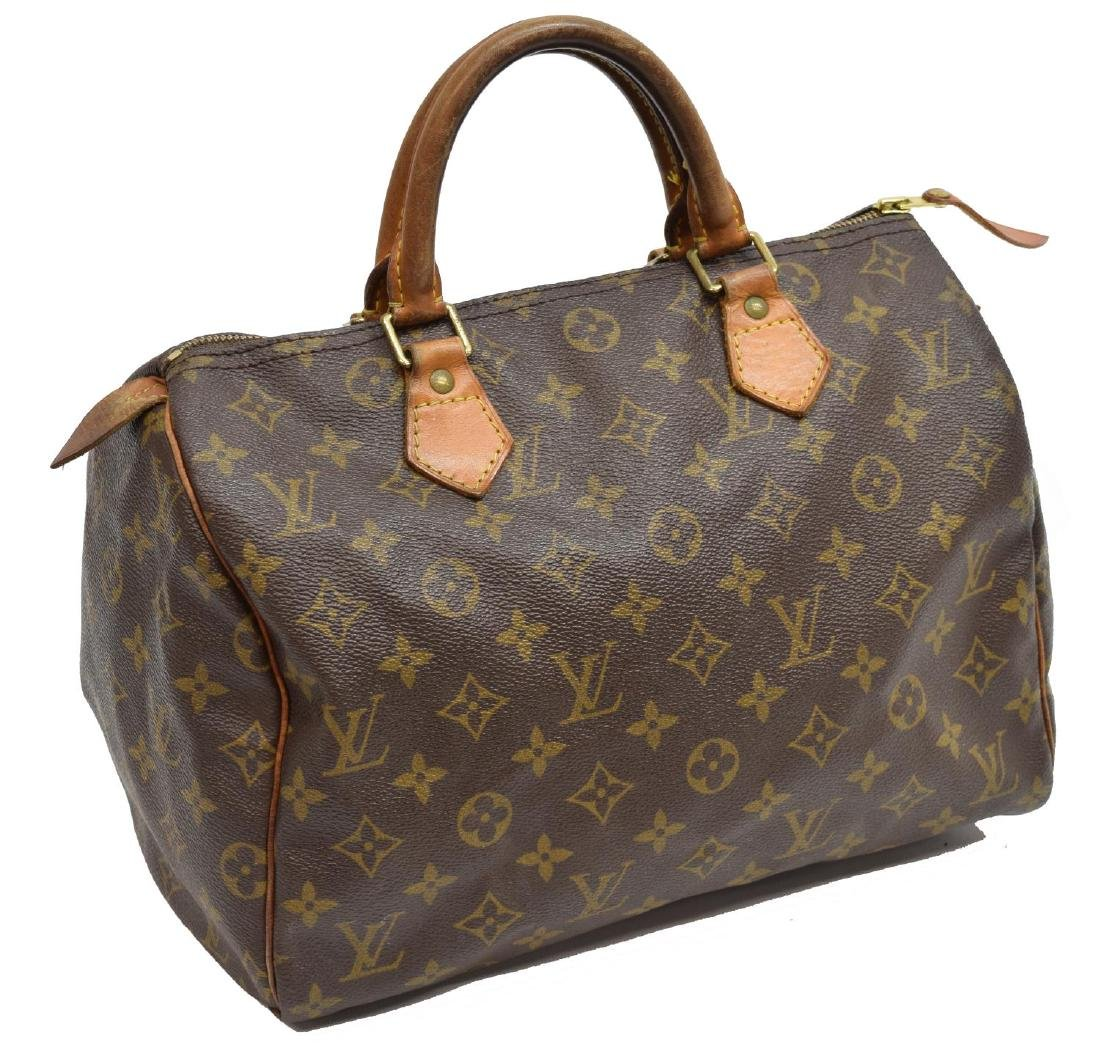 LOUIS VUITTON 'SPEEDY 30' MONOGRAM CANVAS HANDBAG