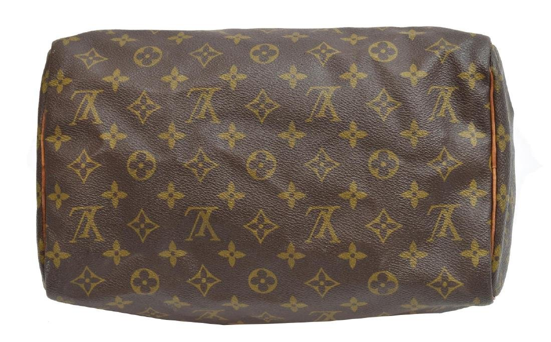 LOUIS VUITTON 'SPEEDY 30' MONOGRAM CANVAS HANDBAG - 3