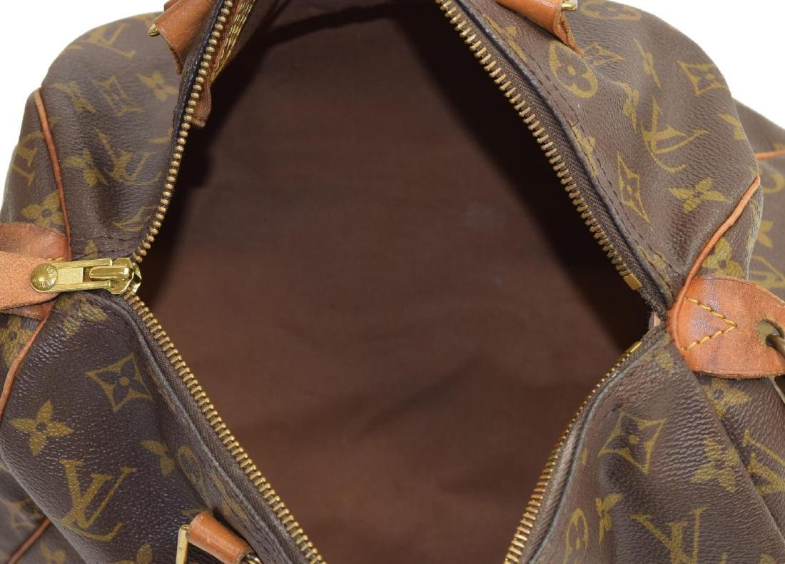 LOUIS VUITTON 'SPEEDY 30' MONOGRAM CANVAS HANDBAG - 4