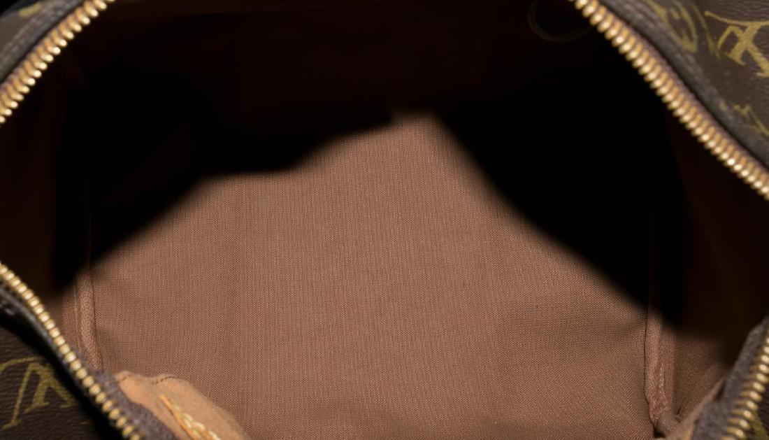 LOUIS VUITTON 'SPEEDY' MONOGRAM CANVAS HANDBAG - 4