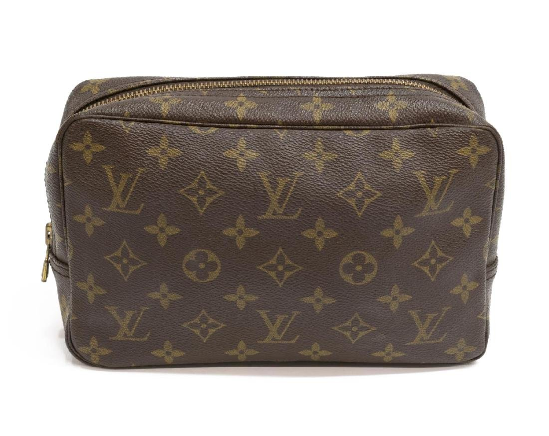 LOUIS VUITTON MONOGRAM CANVAS TOILETRY POUCH - 2