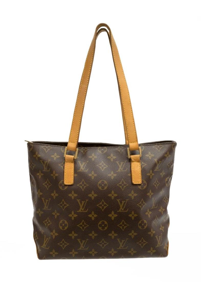 LOUIS VUITTON 'CABAS PIANO' MONOGRAM TOTE BAG