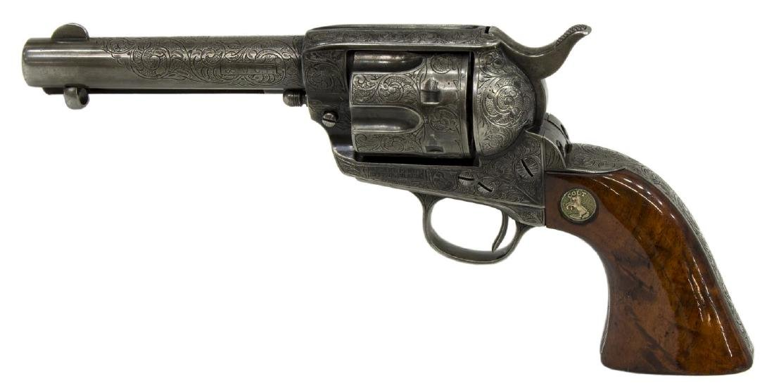 COLT SINGLE ACTION ARMY 1906 REVOLVER, .38 CAL. - 2