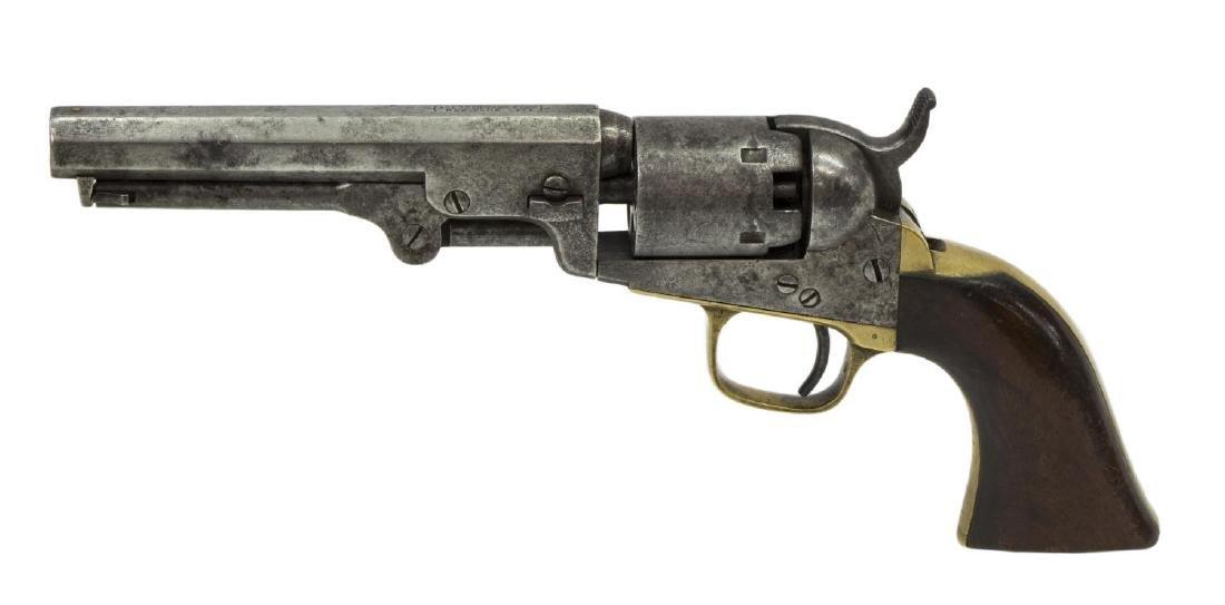 COLT 1849 POCKET REVOLVER, MFG 1860 - 3