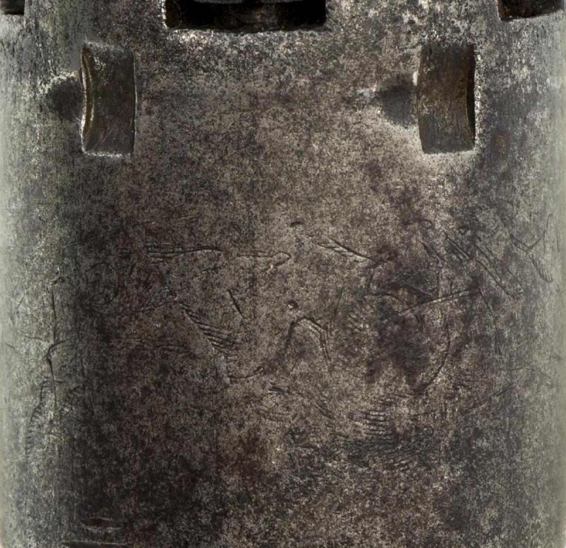 COLT 1849 POCKET REVOLVER, MFG 1860 - 6