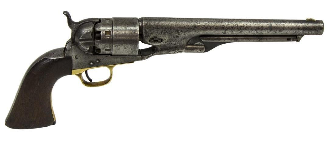 COLT ARMY MODEL 1860 REVOLVER, CIVIL WAR MADE 1862