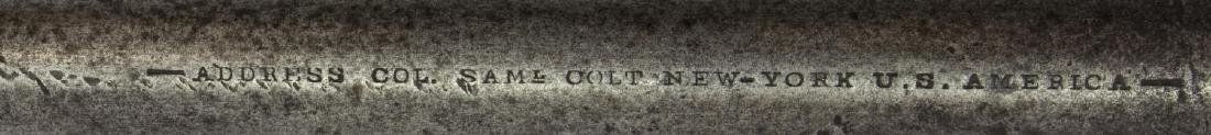 COLT ARMY MODEL 1860 REVOLVER, CIVIL WAR MADE 1862 - 3