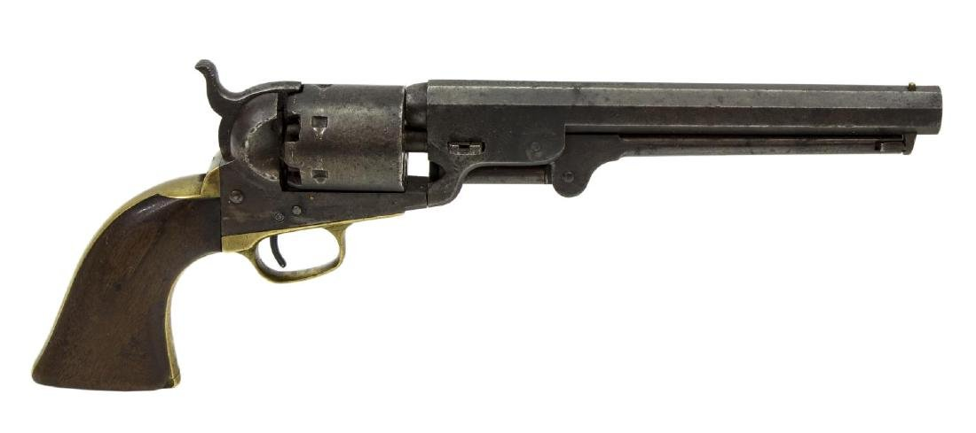 COLT MODEL 1851 NAVY REVOLVER, POSSIBLE TEXAS CSA
