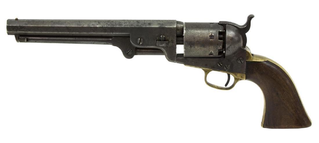 COLT MODEL 1851 NAVY REVOLVER, POSSIBLE TEXAS CSA - 2