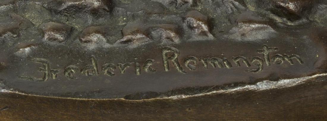 BRONZE 'TROOPER OF THE PLAINS' AFTER REMINGTON - 3