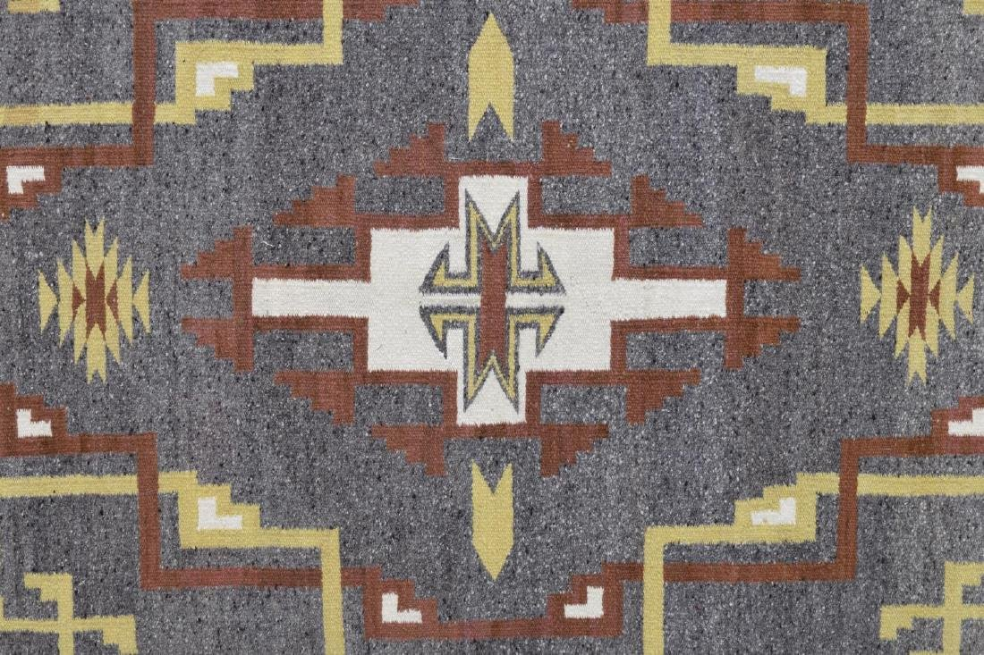 FRAMED NAVAJO BURNTWATER WOVEN RUG - 3