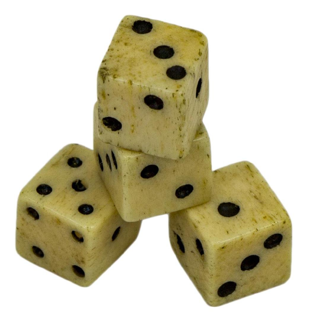 (4 PAIR) BRITISH TAX MARK REVOLUTIONARY WAR DICE - 2