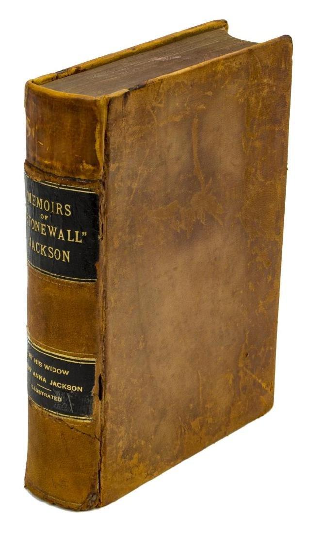 BOOK: MEMOIRS CSA GENL. STONEWALL JACKSON, 1880,