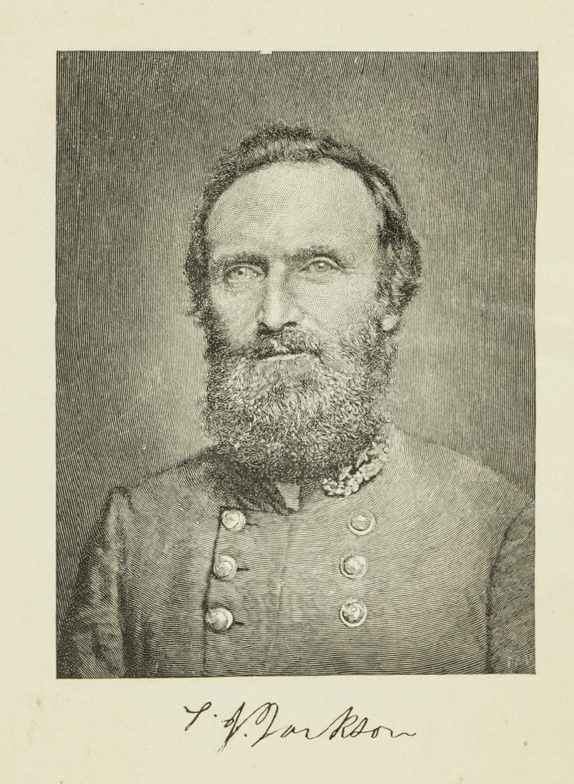 BOOK: MEMOIRS CSA GENL. STONEWALL JACKSON, 1880, - 3