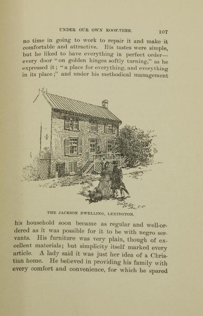 BOOK: MEMOIRS CSA GENL. STONEWALL JACKSON, 1880, - 6