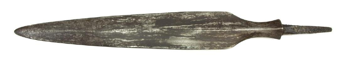 ANTIQUE MORO BUDIAK SPEARHEAD - 3