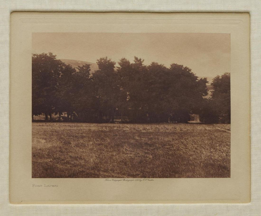 EDWARD S. CURTIS (D.1952) FRAMED PHOTOGRAVURE