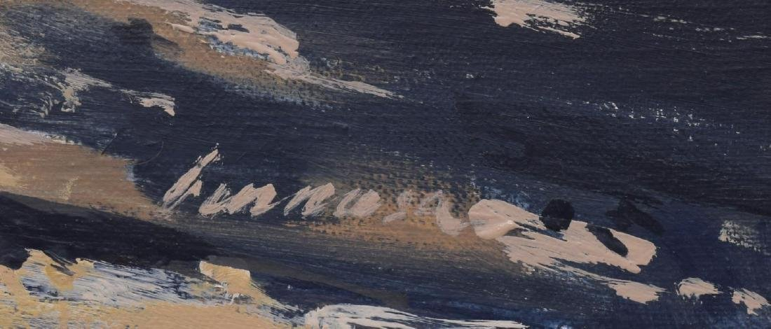 RAGAN GENNUSA (TX, B.1944) OIL ON CANVAS PAINTING - 4