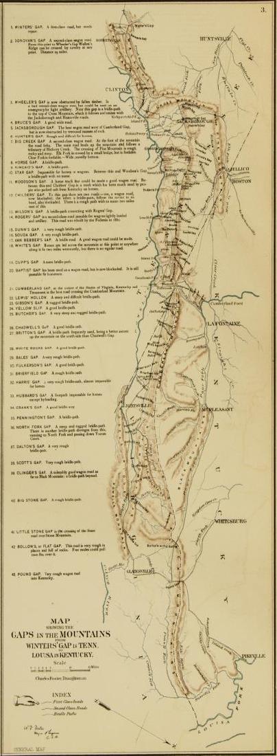 "(2) ""OFFICIAL"" 1892 GETTYSBURG CIVIL WAR MAPS - 5"