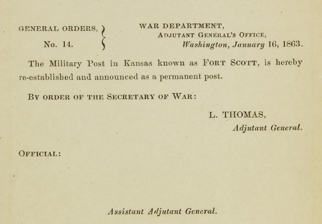 (3) U.S. CIVIL WAR DOCUMENTS, LETTERS & GNL. ORDER - 9
