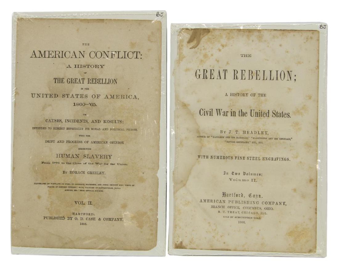 (6) ENGRAVINGS CIVIL WAR GENERALS, U.S. & C.S.A. - 5