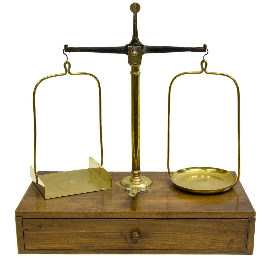 (2) FRENCH BALANCE SCALES - 4