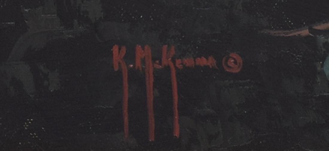 KENNY McKENNA (B. 1950) MOUNTAIN WATERFALLS - 4