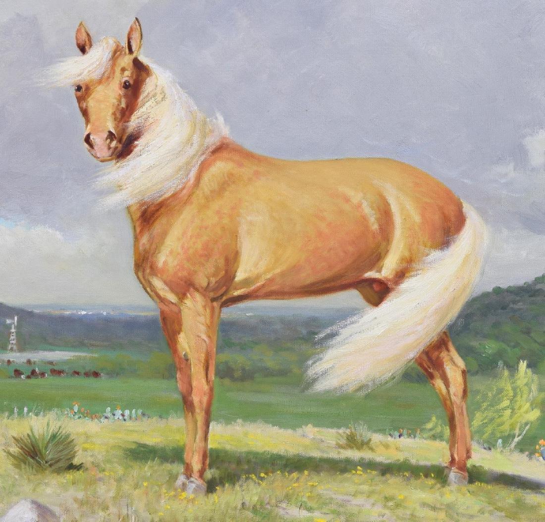 PORFIRIO SALINAS (1910-1973) SCARCE PALOMINO HORSE - 3