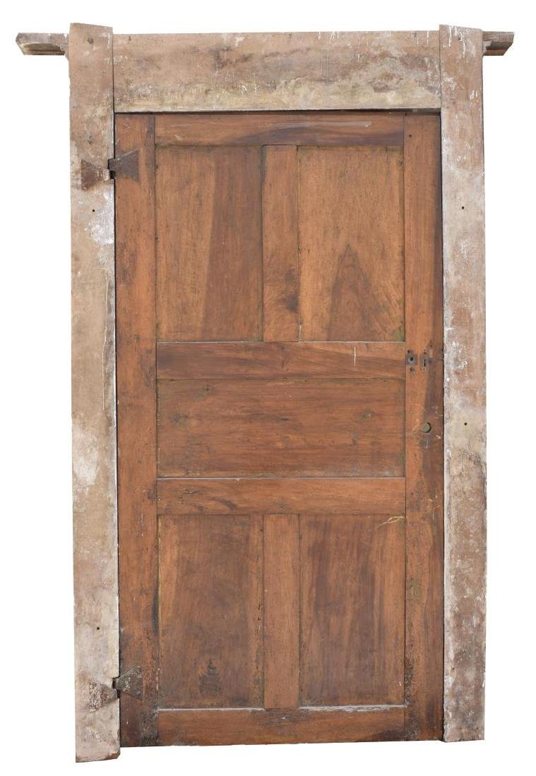 ITALIAN ARCHITECTURAL MONASTERY WALNUT DOOR - 2
