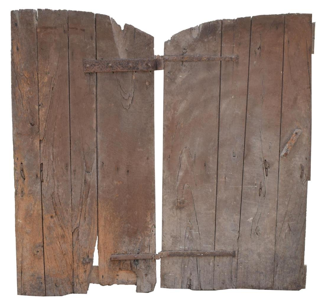 ARCHITECTURAL MONASTERY BARN DOUBLE DOORS - 2